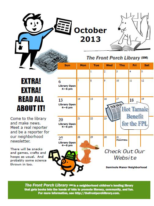 2013 FPL Oct calendar thumbnail